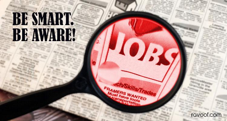 Beware of fraudulent Job Companies in UAE -