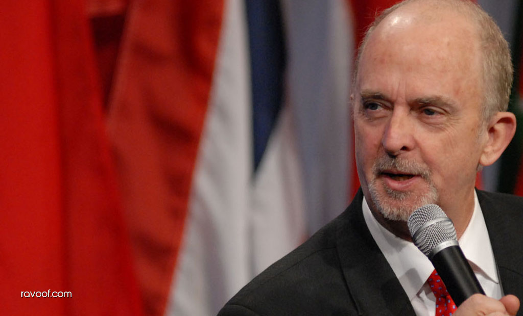 2009 World Champion of Public Speaking, Mark Hunter in Dubai