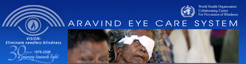 Aravind Eye Care System – Eye(I) care for the poor!