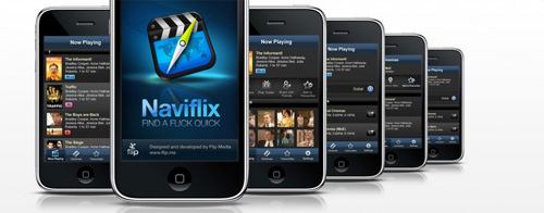 Naviflix – find a flick quick! – first iPhone app from Flip Media