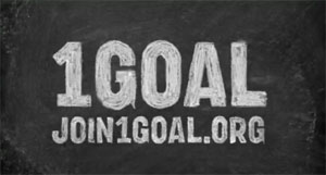 I am Ravoof and I have singed for 1GOAL – Education for all
