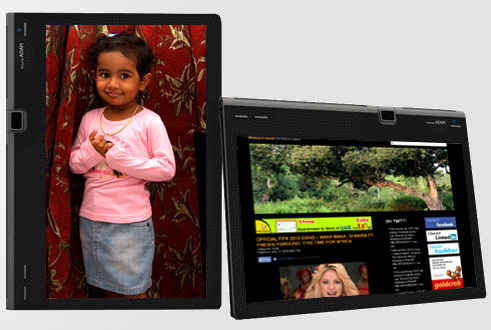 Notion Ink's ADAM – a sleek PC Tablet. A new species from India!