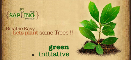 The Sapling Project – plant a Sapling, make the world Greener!