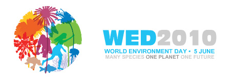World Environment Day 2010. Many species, one planet, one future!