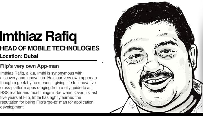 Yo-man, Mo-man, App-man – Our very own Imthiaz Rafiq a.k.a. Imthi