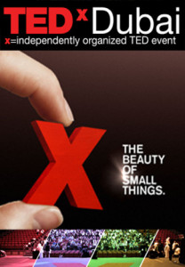 TEDxDubai – The Beauty of Small Things – Dubai 2011