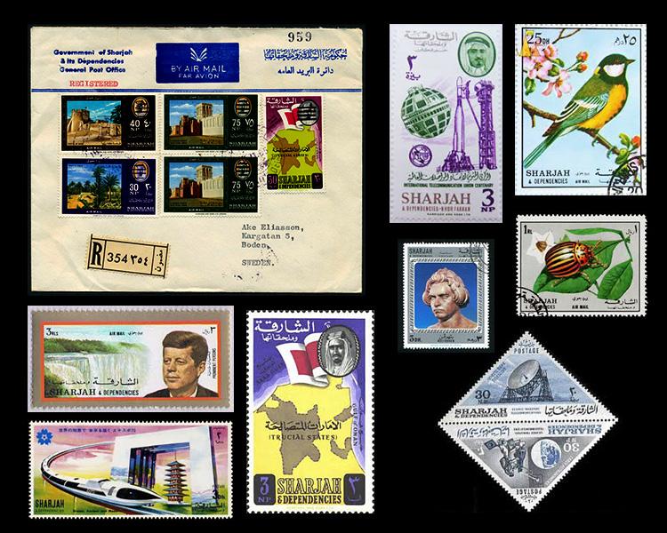 Sharjah Stamps