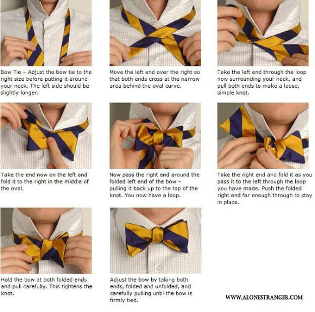 Bow ties? You got this.
